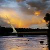 Sundial Bridge Rainbow