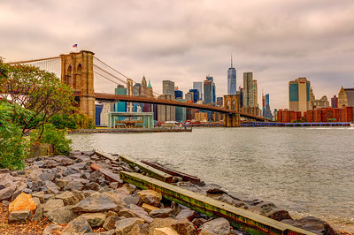 A Morning View from DUMBO