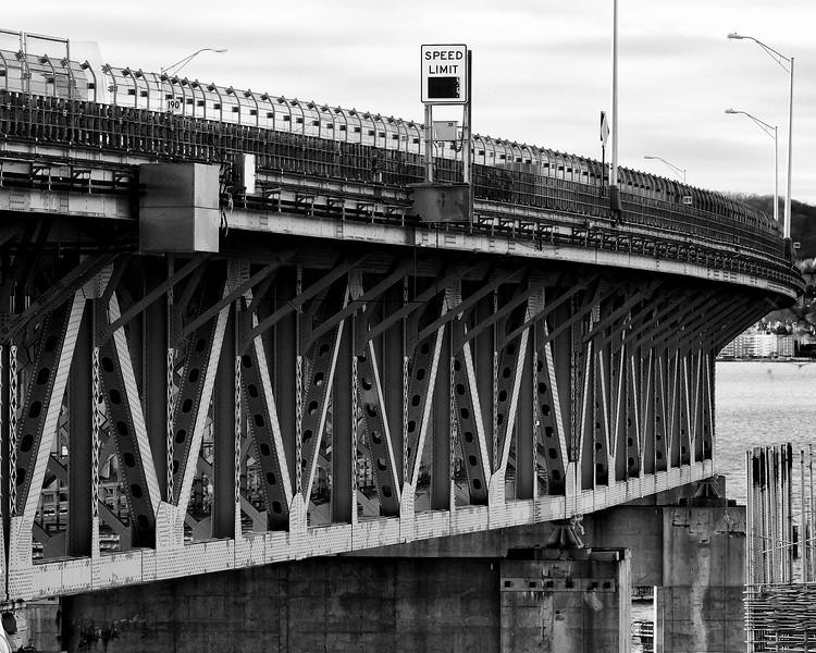 Tappan Zee Bridge from Tarrytown
