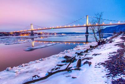 Mid Hudson Bridge, Highland, New York, USA