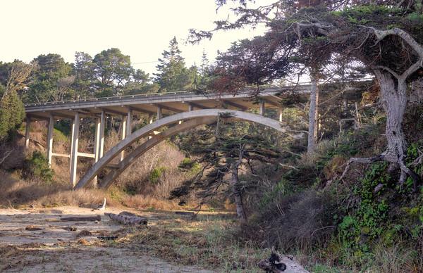 Morning Under The Cabrillo Bridge