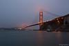 Golden Gate Bridge (pale blue light)