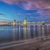 Pink Clouds, Marine Parkway Bridge