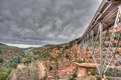Sedona Arizona Midgely Bridge