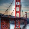 Golden Gate Bridge Noir
