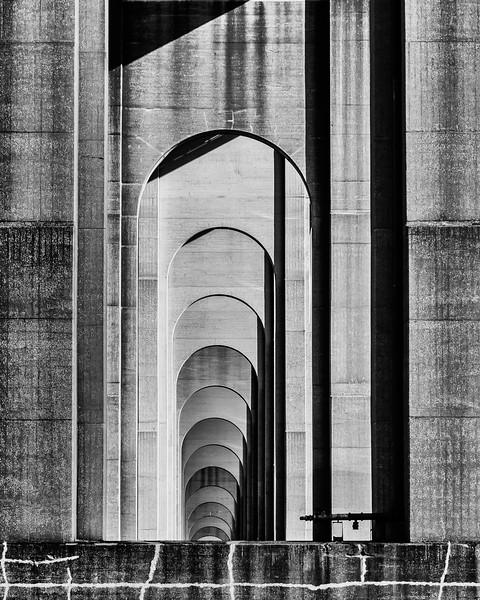 Goethals Bridge Arches