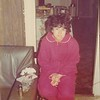 1970's - Christmas, in her onesy!