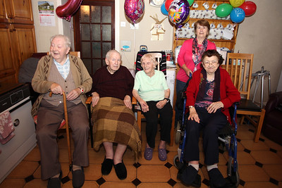 Bridgie's 90th Birthday celebration at the homestead in Kilane, Edenderry  13th July 2018 Pictures Niall O'Mara