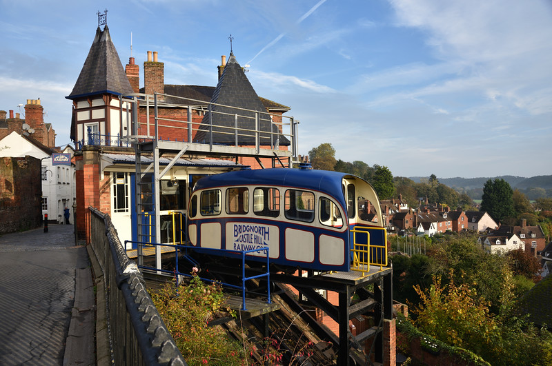 The Cliff Railway, Bridgnorth.