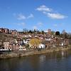 Views along the river Severn, Low Town, Bridgnorth.