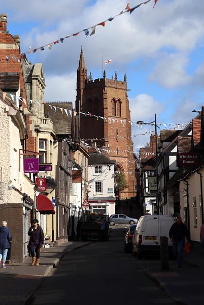 Whitburn St and St. Leonards church, Bridgnorth.