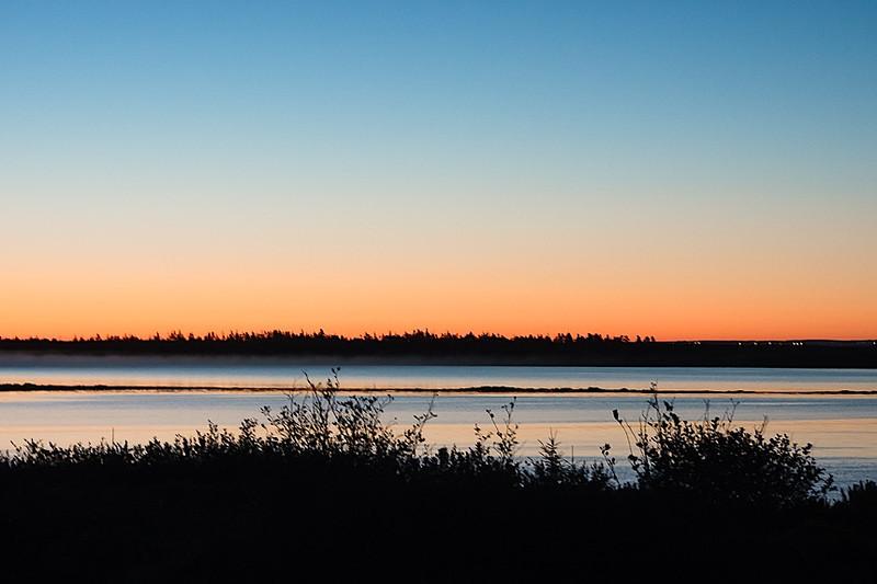 Dawn over Pond Cove