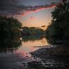 River Cloud Reflections
