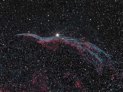 NGC-6990 The Veil Nebula (The Witch's Broom )
