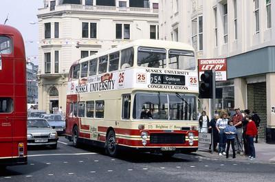 Brighton and Hove 575 Castle Square Brighton May 87