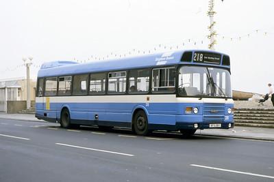 Brighton Borough Transport 28 Esplanade Worthing May 87