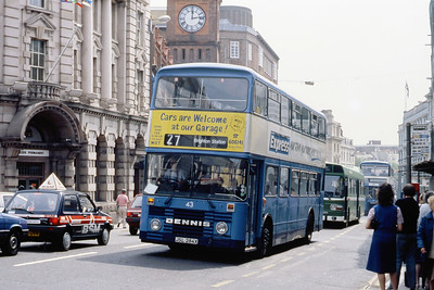 Brighton Borough Transport 43 North Street Brighton May 87
