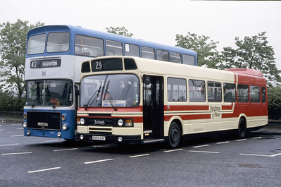 Brighton and Hove 156 Derby Bus Station May 87