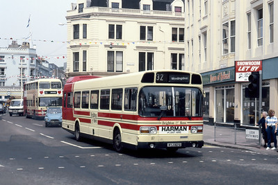 Brighton and Hove 67 Castle Square Brighton May 87