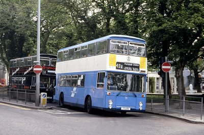 Brighton Borough Transport 11 Old Steine Brighton May 87