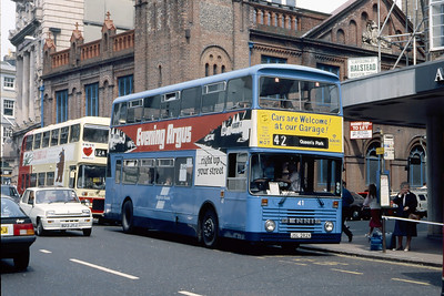 Brighton Borough Transport 41 North Street Brighton May 87