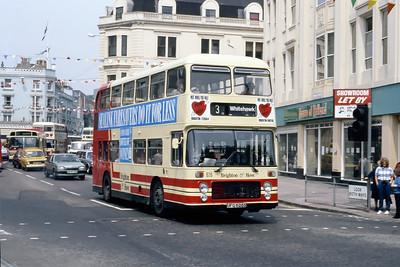 Brighton and Hove 626 Castle Square Brighton May 87