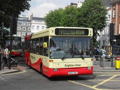 212 - N212NNJ - Brighton (Old Steine) - 11.7.11