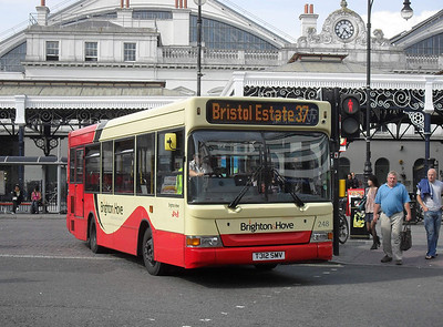 248 - T312SMV - Brighton (railway station) - 11.7.11