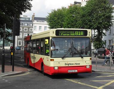 209 - N209NNJ - Brighton (Old Steine) - 11.7.11