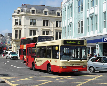 241 - W792VMV - Brighton (North St) - 16.6.12