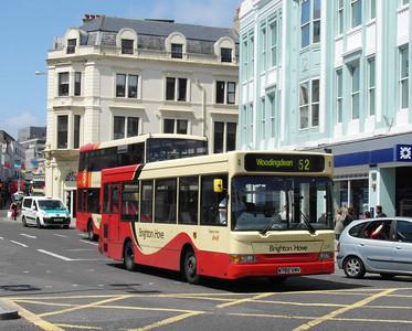 241 - W792VMV - Brighton (North St) - 16.6.12