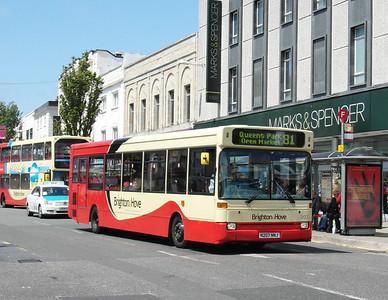 207 - N207NNJ - Brighton (Western Road) - 16.6.12