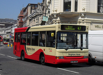 242 - W796VMV - Brighton (North St) - 4.6.10