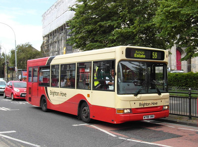 244 - W799VMV - Brighton (St Peters Church) - 16.6.12