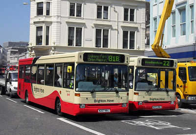 207 - N207NNJ - Brighton (North St) - 4.6.10