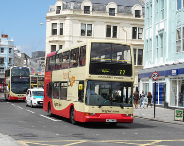 837 - W837NNJ - Brighton (North St) - 16.6.12