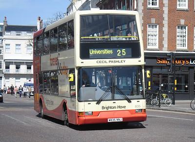835 - W835NNJ - Brighton (Old Steine) - 10.4.12