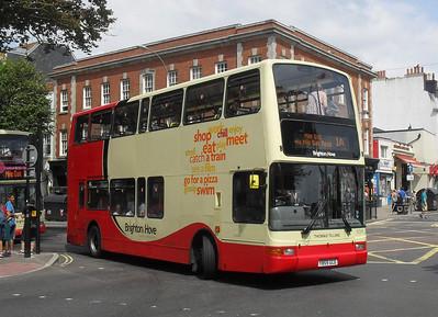 859 - Y853GCD - Brighton (Old Steine) - 11.7.11