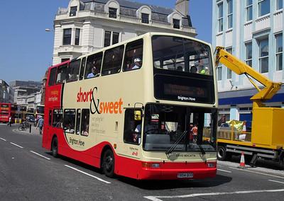 854 - Y854GCD - Brighton (North St) - 4.6.10