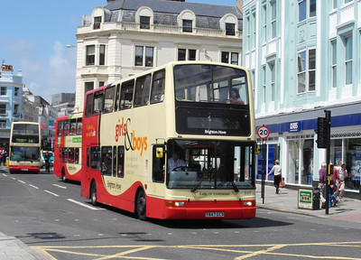 847 - Y847GCD - Brighton (North St) - 16.6.12