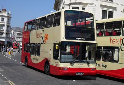 868 - PK02RDV - Brighton (North St) - 4.6.10