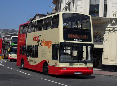 853 - Y853GCD - Brighton (North St) - 4.6.10