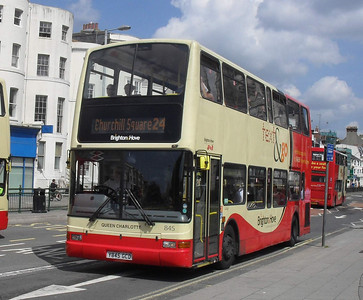845 - Y845GCD - Brighton (Gloucester Place) - 13.7.11