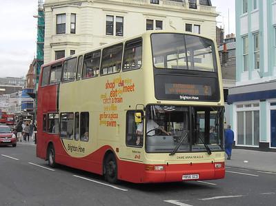 856 - Y856GCD - Brighton (North St) - 31.8.11