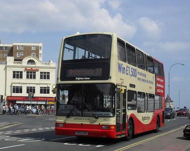 867 - PK02RDU - Brighton (Old Steine) - 11.7.11