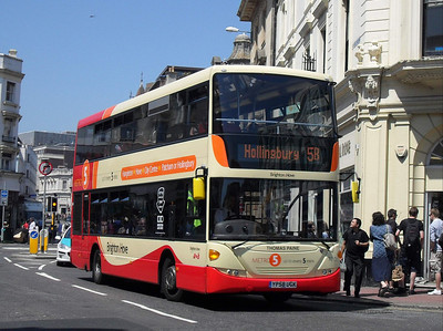 710 - YP58UGK - Brighton (North St) - 4.6.10