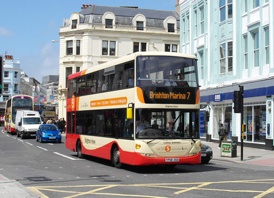701 - YP58UGA - Brighton (North St) - 16.6.12