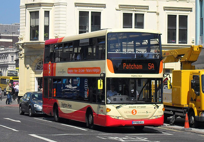 709 - YP58UGJ - Brighton (North St) - 4.6.10