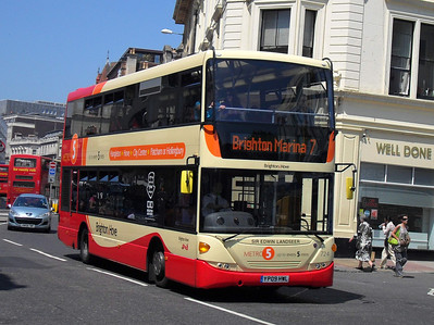 724 - YP09HWL - Brighton (North St) - 4.6.10