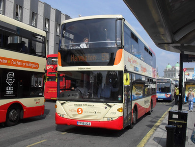 709 - YP58UGJ - Brighton (Churchill Square) - 4.6.10